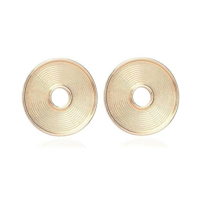 Swirl Bold Earrings - Divinesolutions