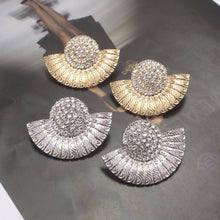 Zara Vintage Rhinestone Earrings - Divinesolutions
