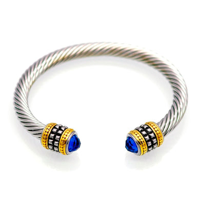 Bold Riri Unisex Multi Twisted Cuff Bracelet - Divinesolutions