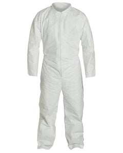 (25/Case) PROMAX II Disposable Coveralls Zip Front w/ Elastic Wrists and Ankles