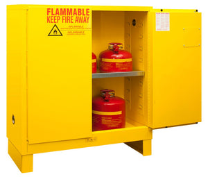 Durham Steel Manual Closing Flammable Storage Cabinets with 6