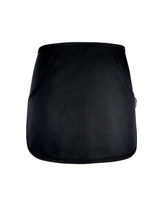 (6/Case) Rounded Waist Apron - Black