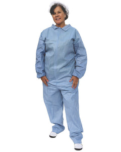 (25/Case) SunGard Flame Retardant Disposable Coveralls with Open Wrists & Ankles