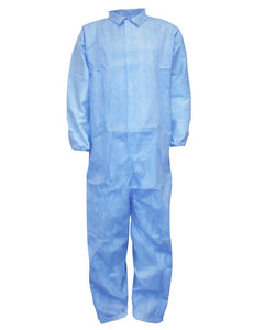 (25/Case) SunGard Flame Retardant Disposable Coveralls with Elastic Wrists & Ankles