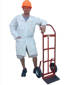 (30/Case) SunTech Lab Coats with 2 Pockets (Similar to Tyvek)