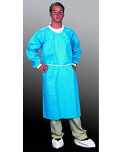 (30/Case) Sunsoft Wrapped Back Disposable Barrier Gown