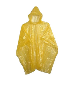 Clear Disposable Rain Poncho