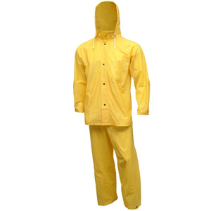 Tingley 8 Mil (.20MM) Yellow 3 Piece Rain Suit