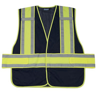Navy Mesh Expandable Non ANSI Safety Vest