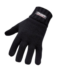 (6/Case) Portwest Black Lined Knit Glove