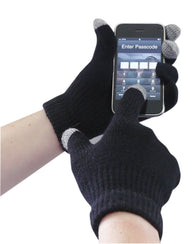 (6/Case) Portwest Black Touchscreen Knit Glove