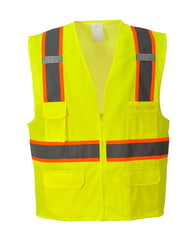 (3/Case) Class 2 Portwest Yellow Jackson Hi-Vis Executive Vest