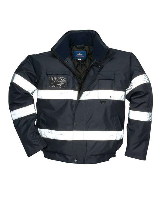 Class 3 Portwest Navy Iona Lite Bomber Jacket
