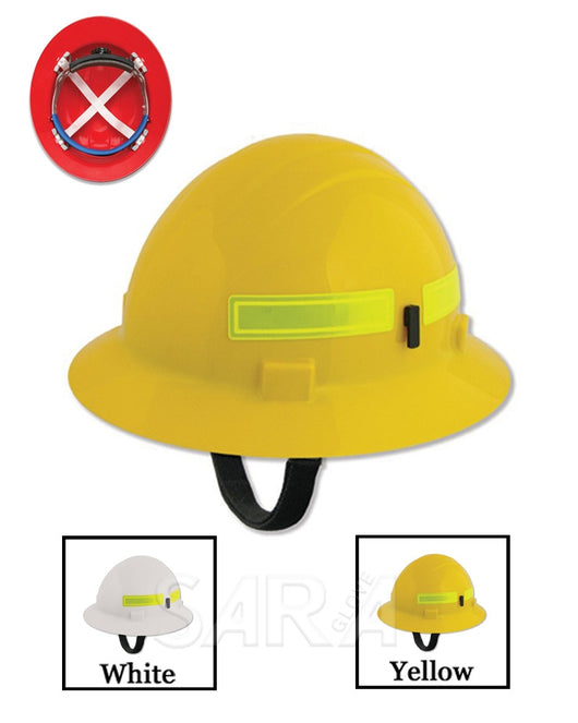 (12/CASE) Americana Wildlands Hard Hat - Mega Ratchet