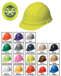 (12/CASE) Omega II Hard Hat - Mega Ratchet Adjustment