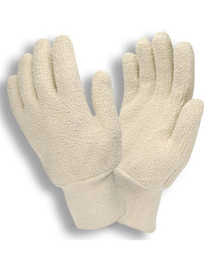 Heavy Weight 24oz Loop Out Terry Cloth Cotton Gloves