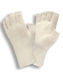Fingerless String Knit Cotton Gloves- Men's & Women's