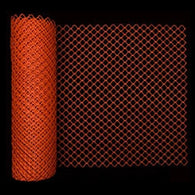 Diamond Link Orange Safety Fence 4' x 50' Roll