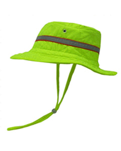 Hyperkewl Cooling Ranger Boonie Surveyor Hat Hi Vis Lime