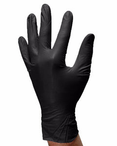 (20 Case/Quarter Pallet) Aurelia Bold Black Nitrile Powder Free 5Mil Exam Gloves