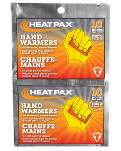 ($1.00 each - 10 Pairs) Heat Pax Winter Hand Warmers