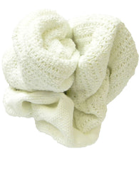 25lb Case White Thermal Blanket Wiping Rags