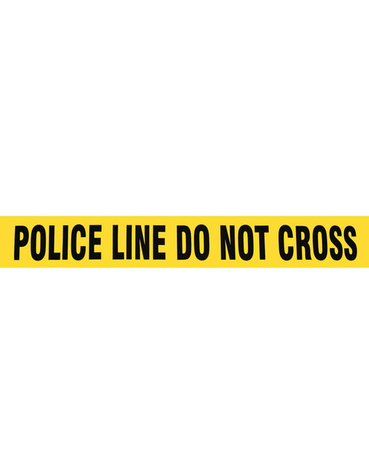 police line do not cross barricade safety tape