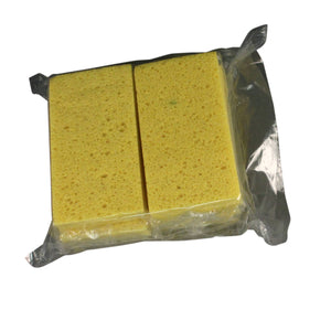 (6/Pack) Yellow Cellulose Sponge, Small