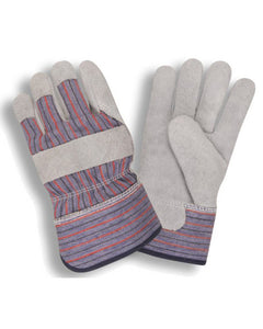 (12 Pairs) Insulated Leather Palm Work Gloves with Thinsulate® Lining