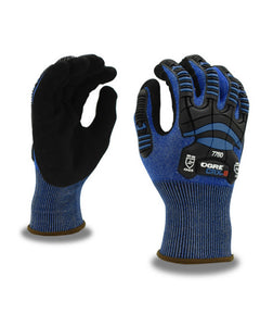 (Sold by the Pair) OGRE™ Cut-Resistant CRX Shell, Nitrile Palm Coating, TPR Glove ANSI Cut Level A2