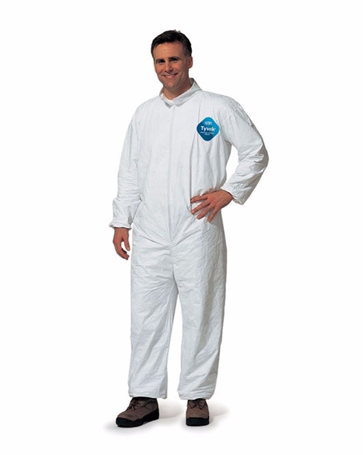 Tyvek Disposable Coveralls - Elastic Cuffs