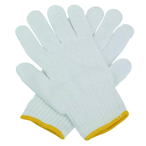 Ladies String Knit Gloves - Light Weight