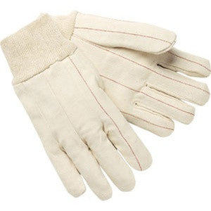 Case of Double Palm Cotton Knitwrist Gloves