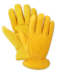 Elk Deerskin Leather Thinsulate Insulation Drivers Gloves
