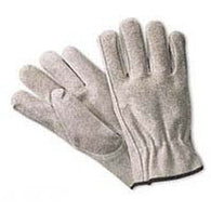 Split Cowhide Leather Driver Gloves