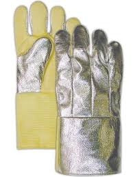 Aluminized Back Thermonol Glove Steel Grip