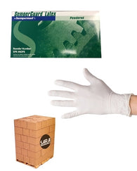 (20 Case/Quarter Pallet) Latex 4.5mil Lightly Powdered SemperGuard Disposable Gloves