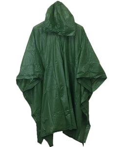 Adult 10 Mil Reusable Rain Ponchos