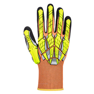 (Sold by the Pair) Portwest DX VHR Impact Level A6 Cut Resistant Glove