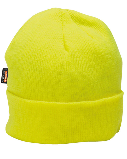 ( 5.00 each - 6 Case) Portwest Yellow Knit Hat Insulatex Lined. Beanie fafd073c14e5