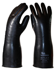 14 Mil Guardian Smooth Butyl Chemical Resistant Gloves ($24.95/pair)