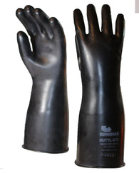 ($39.95/pair) 25 Mil Guardian Smooth Butyl Chemical Resistant Gloves