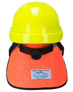 (6/Case) Portwest Orange & Blue Cooling Crown with Neck Shade