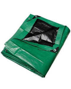12' X 22' Green Tarp - Single