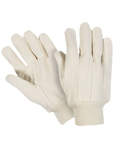 Heavy Weight Cotton Canvas Knitwrist Gloves