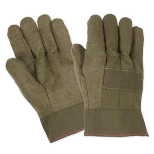 Extra Heavy Weight Flame Retardant Nap Out Hot Mill Gauntlet Cuff Gloves