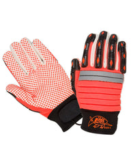 Arma Tuff Orange Dotted Palm Impact Glove
