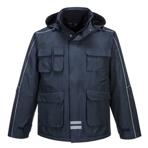 Portwest RS Multi-Pocket Parka Navy