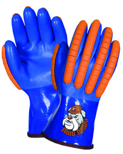Mud Dawg Summer Lined PVC Dipped Impact Glove
