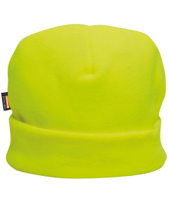 (6/Case) Portwest Hi-Vis Yellow Fleece Hat Insulatex Lined